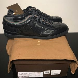Gucci BLk 9+ Monogram sneakers